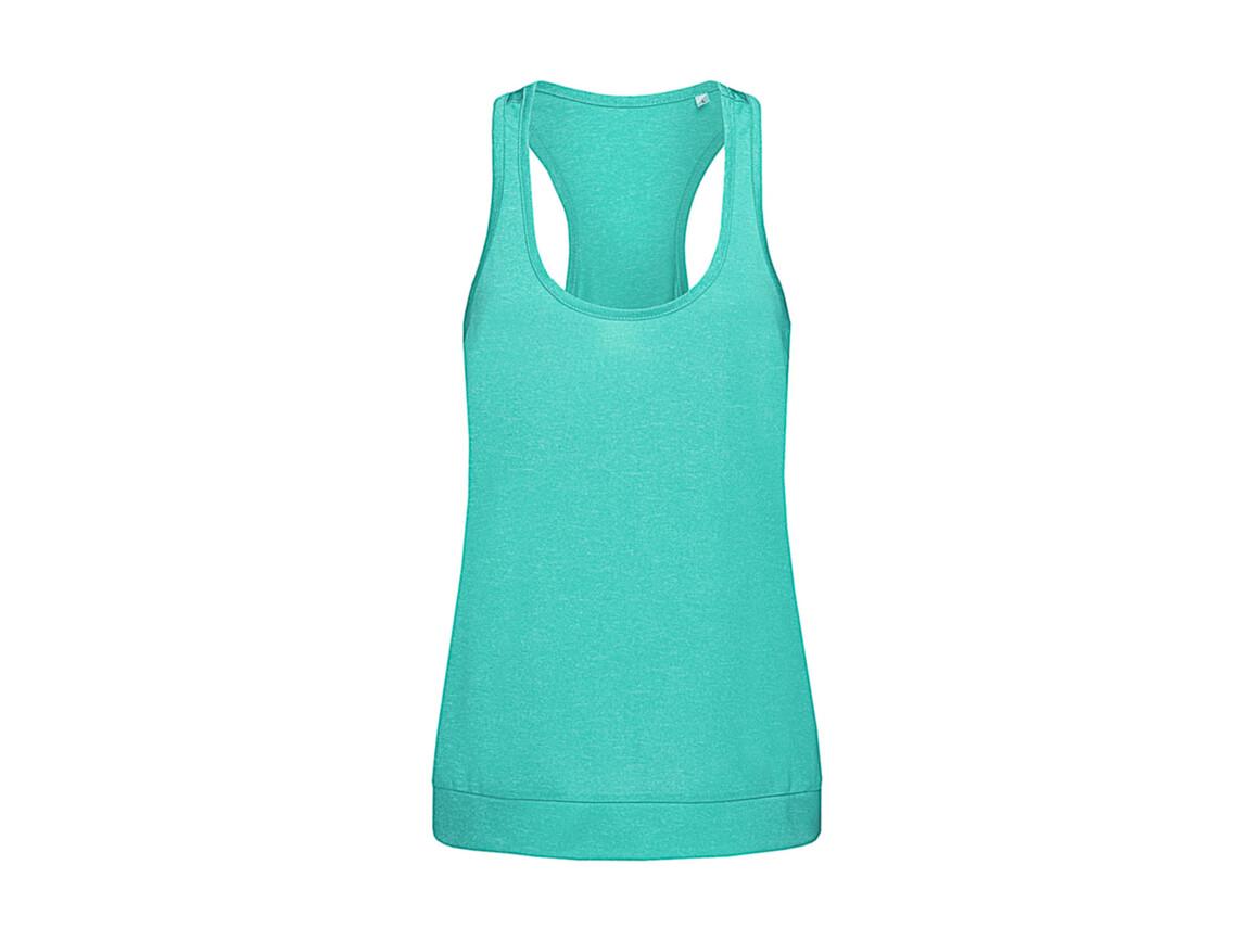 Stedman Active Performance Top, Turquoise, L bedrucken, Art.-Nr. 114055365