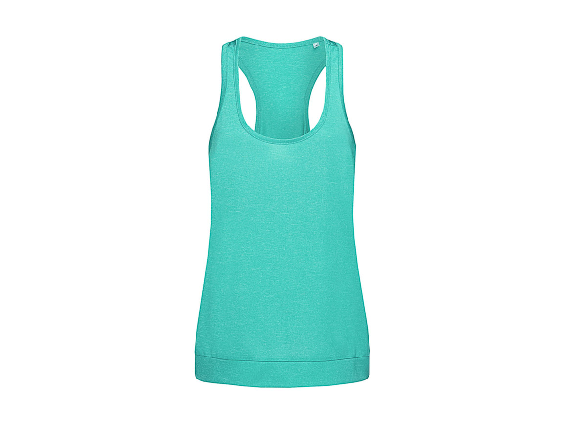 Stedman Active Performance Top, Turquoise, XL bedrucken, Art.-Nr. 114055366