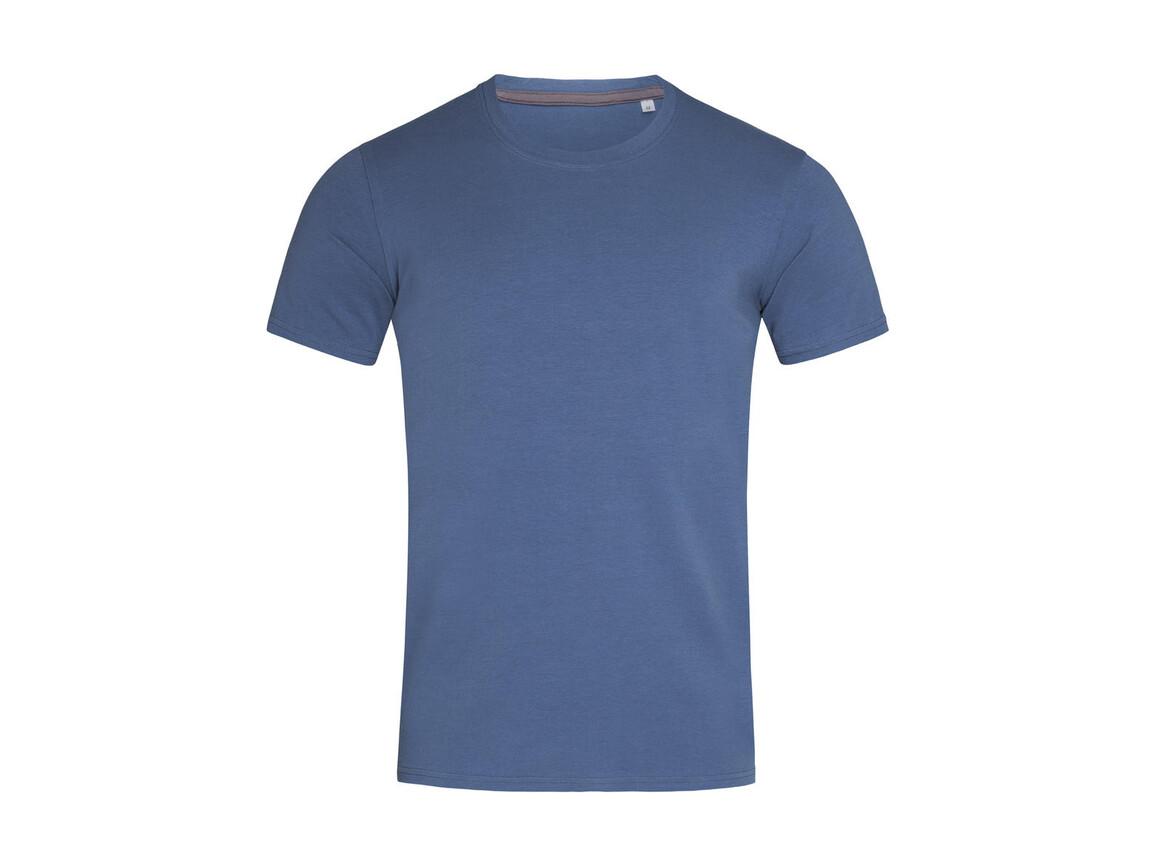 Stedman Clive Crew Neck, Denim Blue, XL bedrucken, Art.-Nr. 115053316