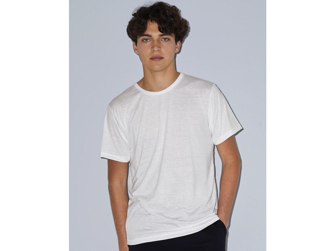 American Apparel Unisex Sublimation T-Shirt, White, XL bedrucken, Art.-Nr. 115070006