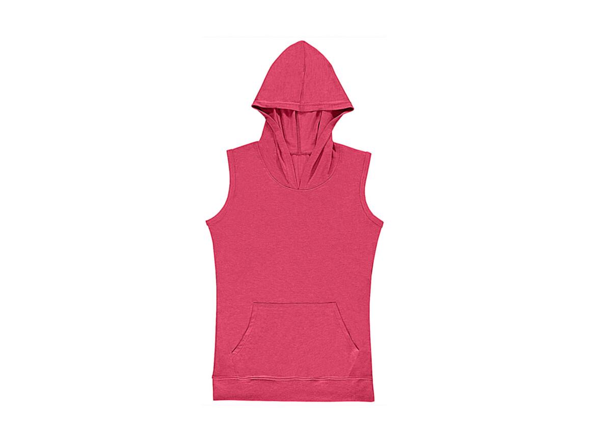 nakedshirt Cecilia Women`s Sleeveless Hooded T-Shirt, Vintage Rose, L bedrucken, Art.-Nr. 116854265