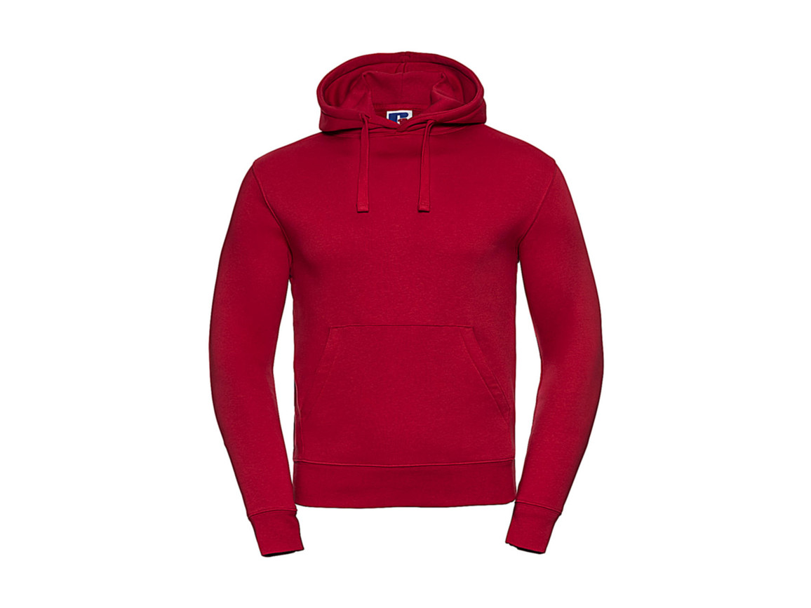 Russell Europe Authentic Hooded Sweat, Classic Red, 3XL bedrucken, Art.-Nr. 265004018