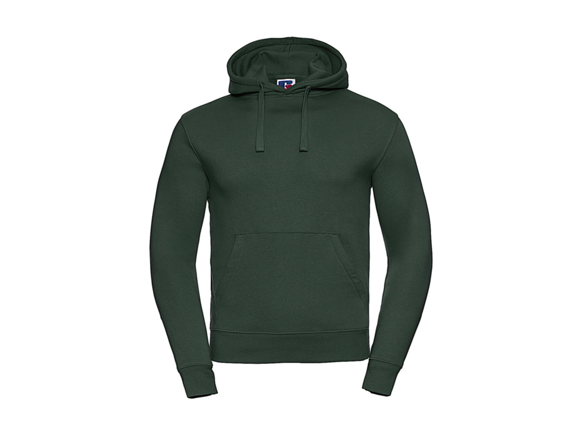 Russell Europe Authentic Hooded Sweat, Bottle Green, XS bedrucken, Art.-Nr. 265005402