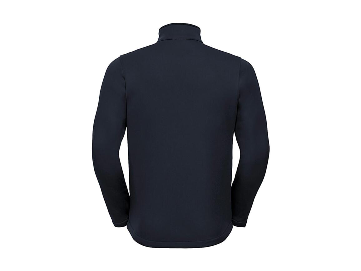 Russell Europe Men`s SmartSoftshell Jacket, French Navy, S bedrucken, Art.-Nr. 429002013