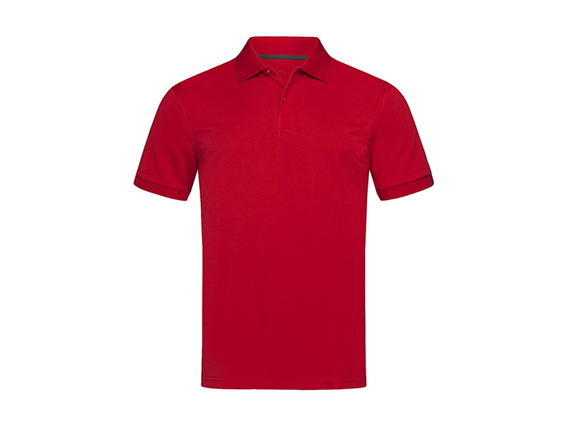 Stedman Active Piqué Polo, Pepper Red, S bedrucken, Art.-Nr. 501054033