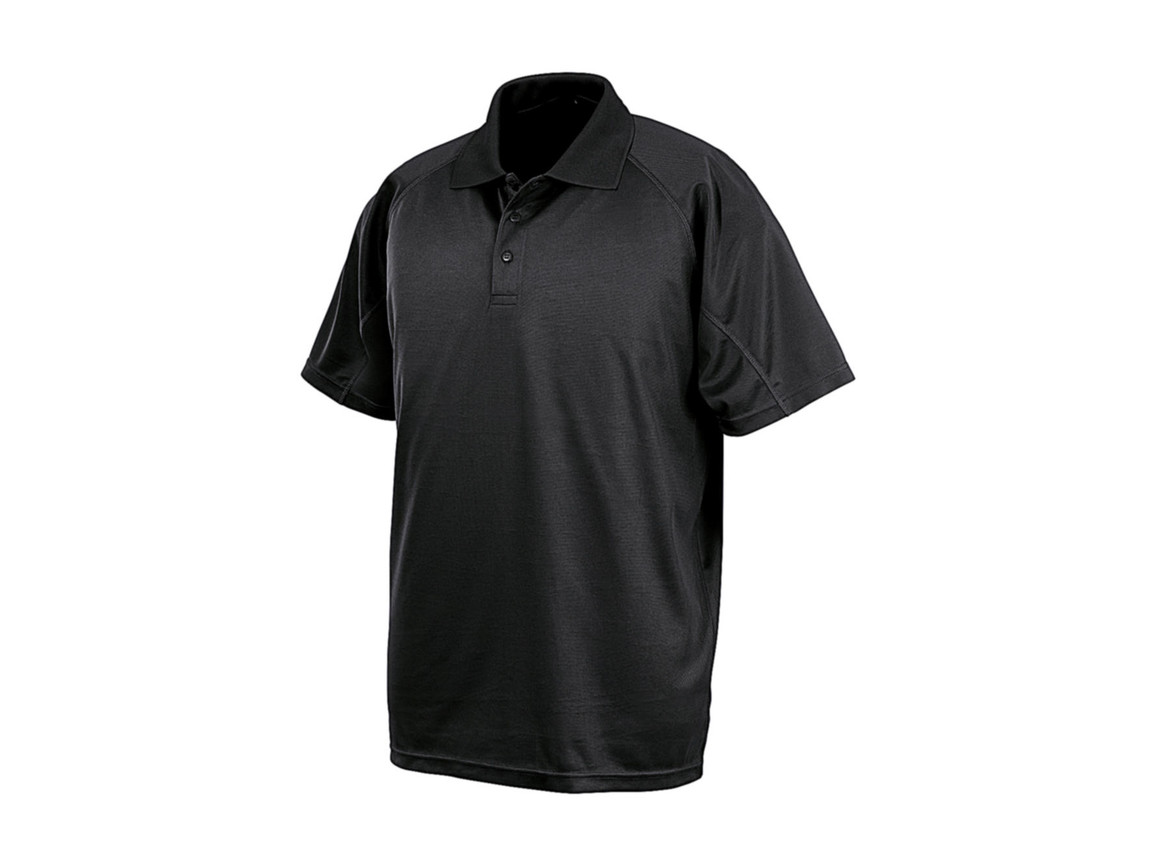 Result Performance Aircool Polo, Black, XL bedrucken, Art.-Nr. 501331015