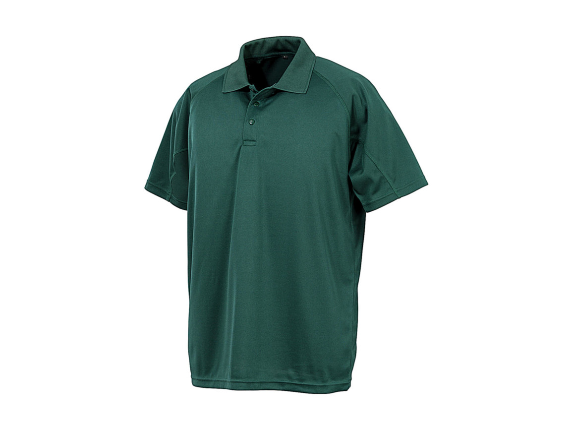 Result Performance Aircool Polo, Bottle Green, XL bedrucken, Art.-Nr. 501335405