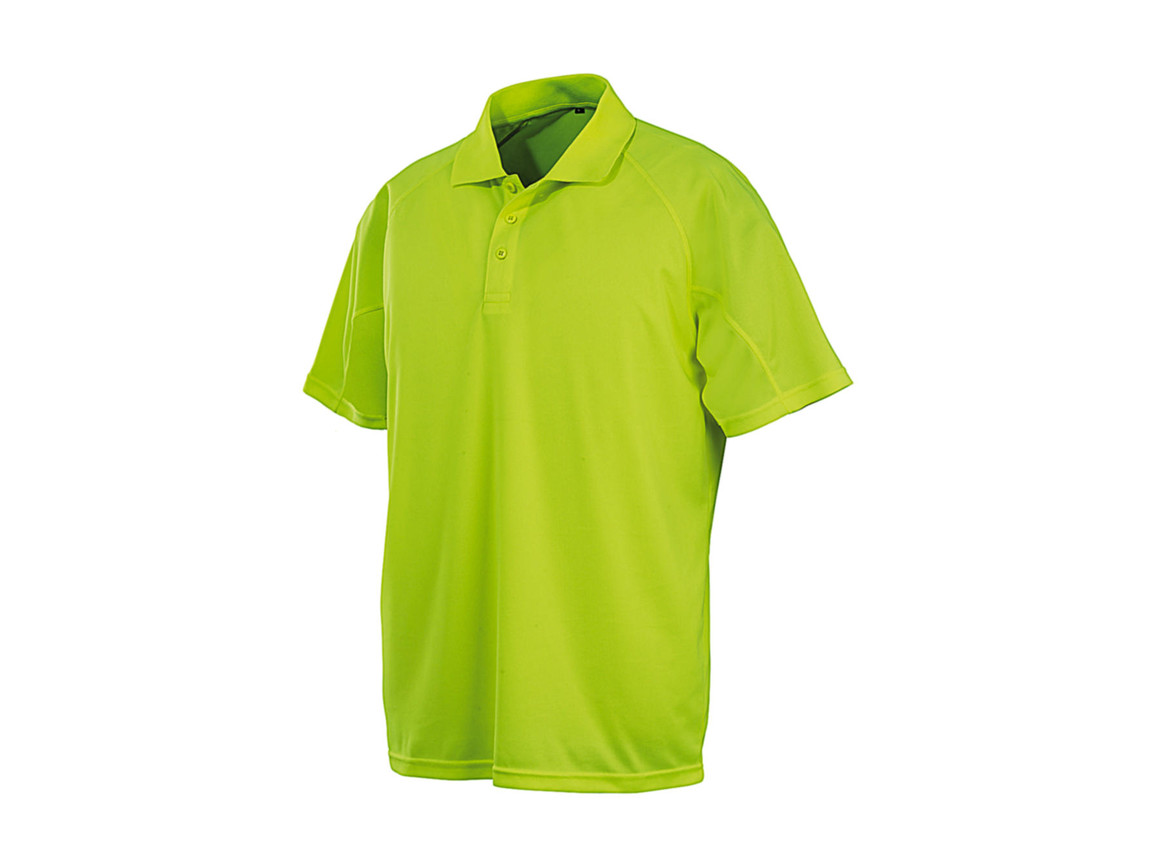 Result Performance Aircool Polo, Flo Yellow, M bedrucken, Art.-Nr. 501336053