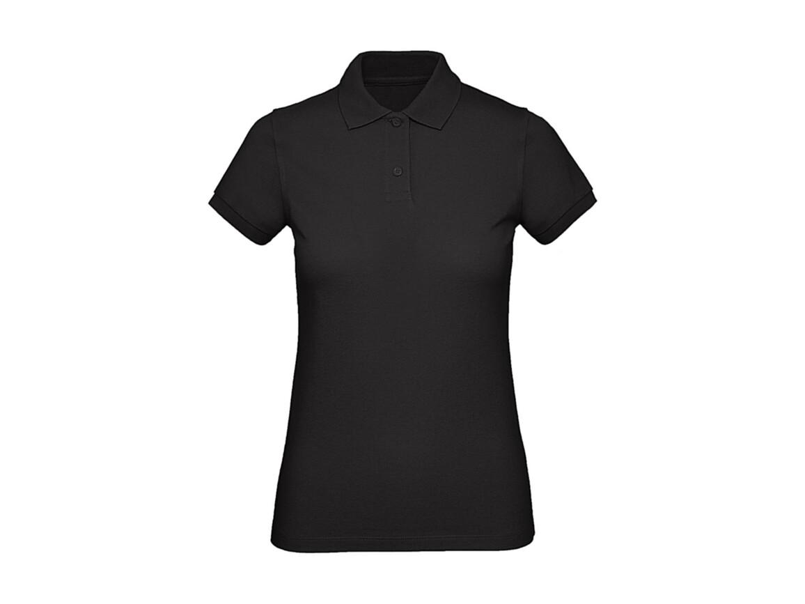 B & C Inspire Polo /women, Black, XL bedrucken, Art.-Nr. 501421016