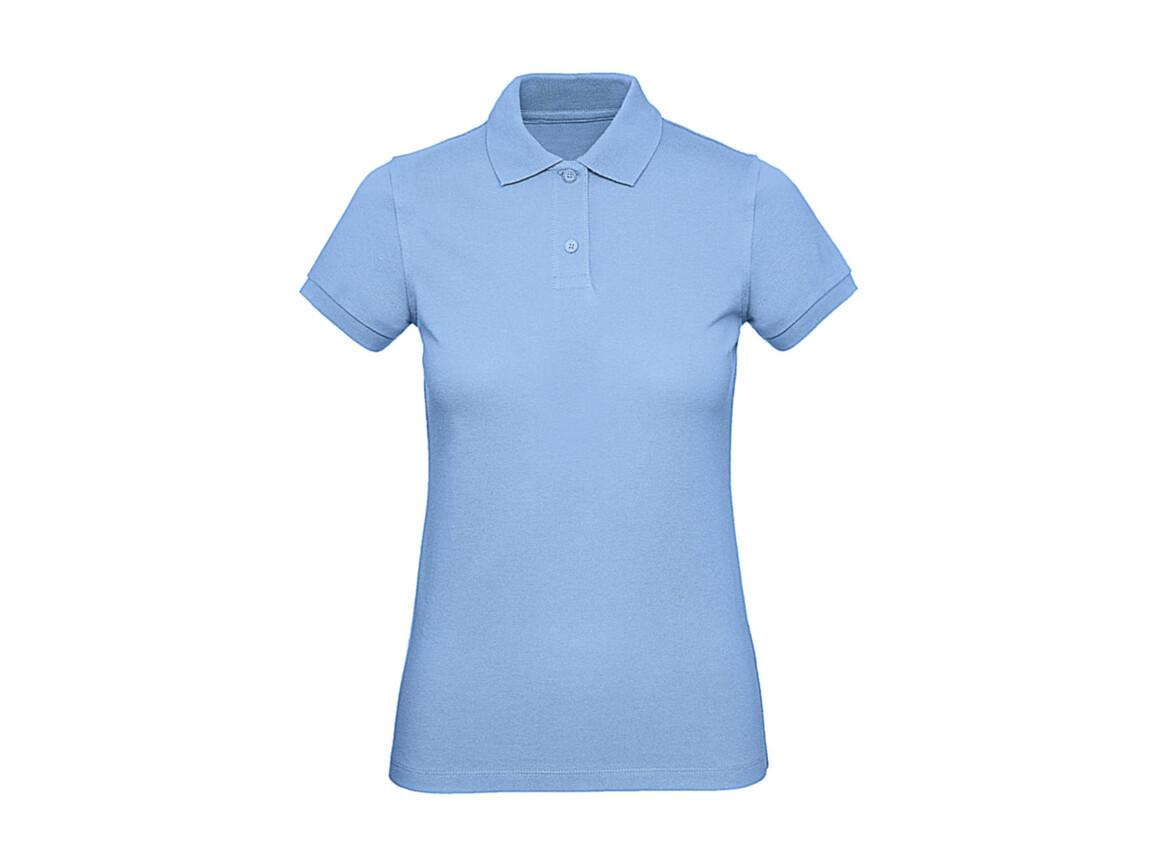 B & C Inspire Polo /women, Sky Blue, L bedrucken, Art.-Nr. 501423205