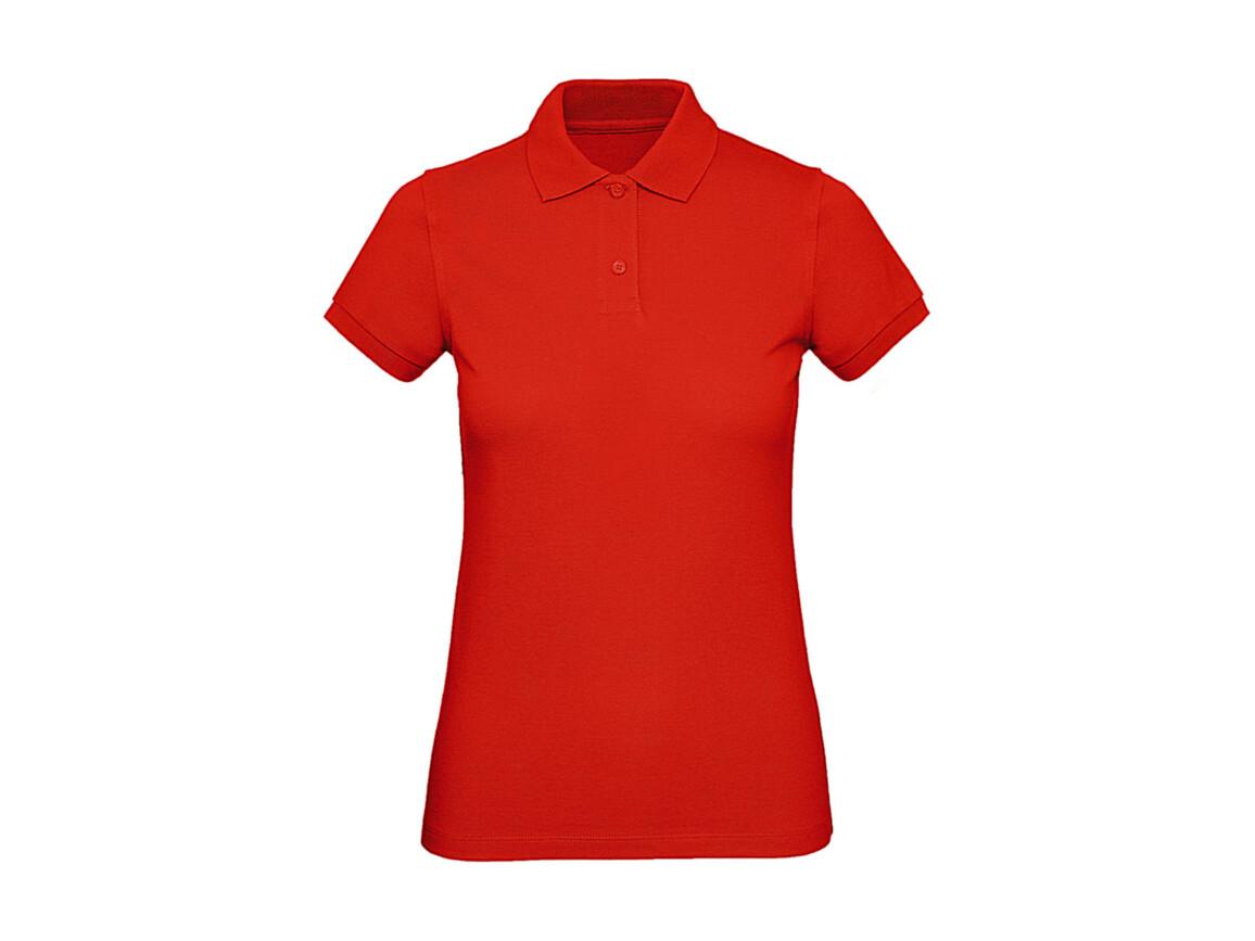 B & C Inspire Polo /women, Fire Red, L bedrucken, Art.-Nr. 501424075