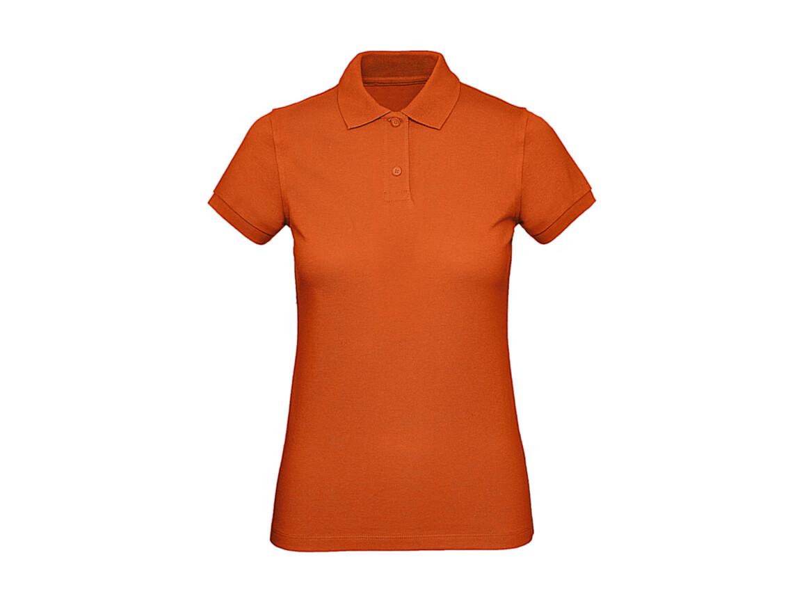 B & C Inspire Polo /women, Urban Orange, L bedrucken, Art.-Nr. 501424095