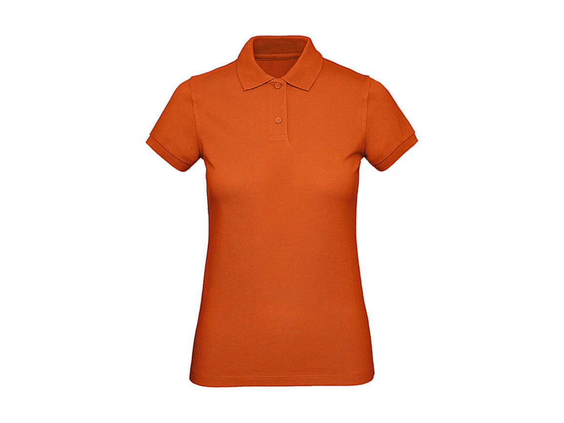 B & C Inspire Polo /women, Urban Orange, XL bedrucken, Art.-Nr. 501424096