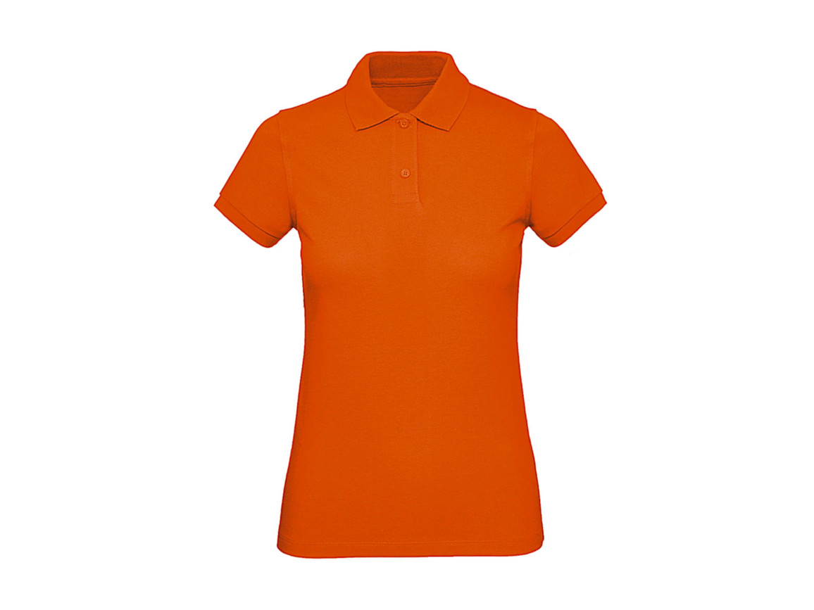 B & C Inspire Polo /women, Orange, XS bedrucken, Art.-Nr. 501424102