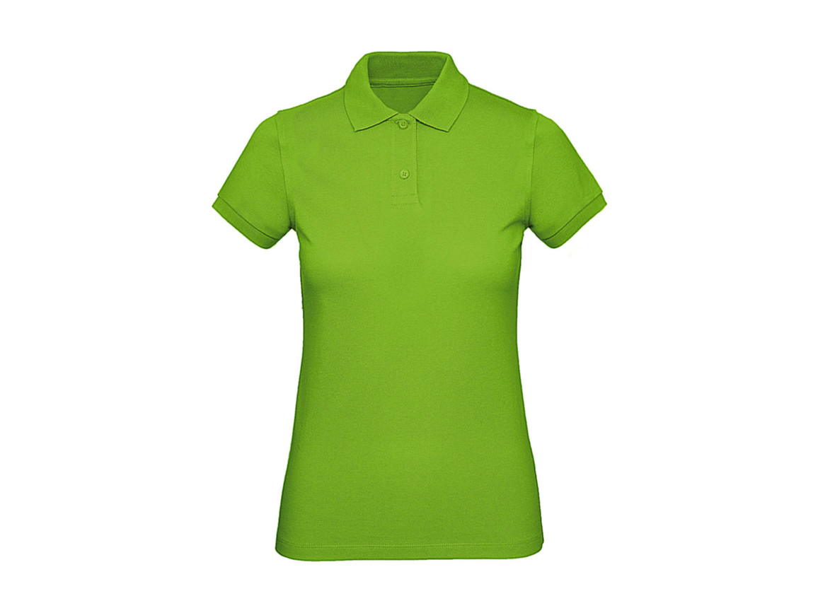 B & C Inspire Polo /women, Orchid Green, XS bedrucken, Art.-Nr. 501425062