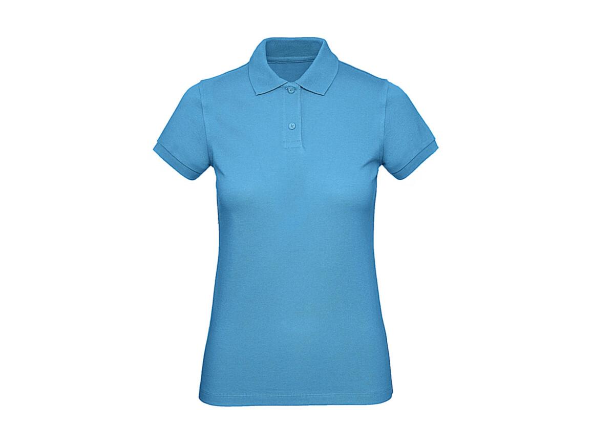 B & C Inspire Polo /women, Very Turquoise, M bedrucken, Art.-Nr. 501425364