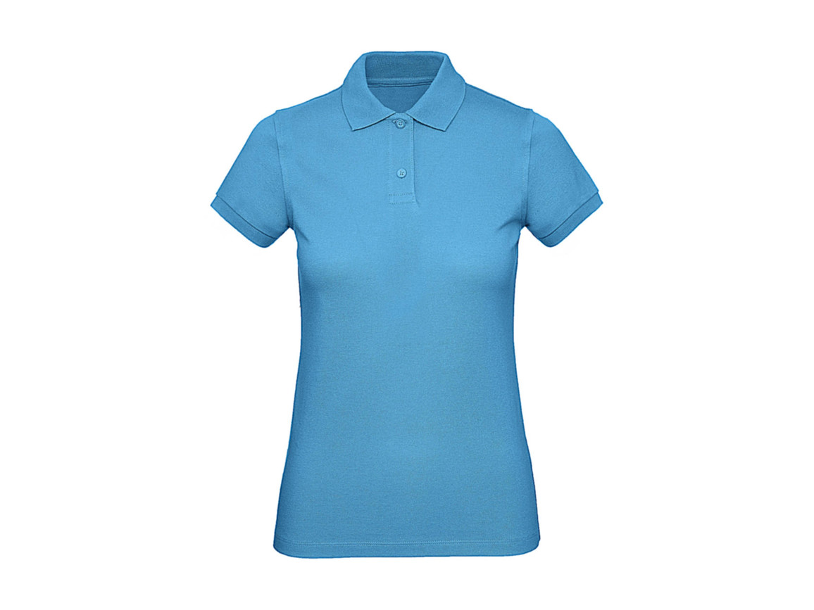 B & C Inspire Polo /women, Very Turquoise, S bedrucken, Art.-Nr. 501425363