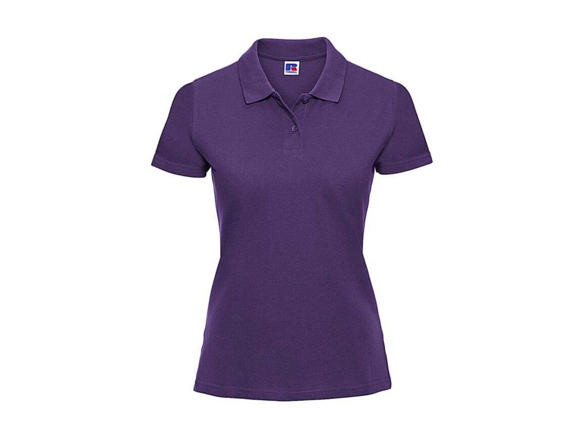 Russell Europe Ladies` Classic Cotton Polo, Purple, 2XL bedrucken, Art.-Nr. 502003497