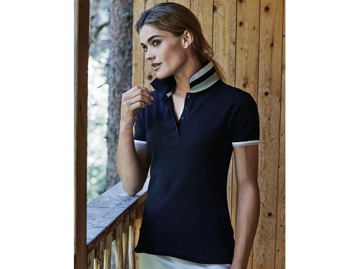 Tee Jays Ladies` Club Polo, Navy, S bedrucken, Art.-Nr. 503542003