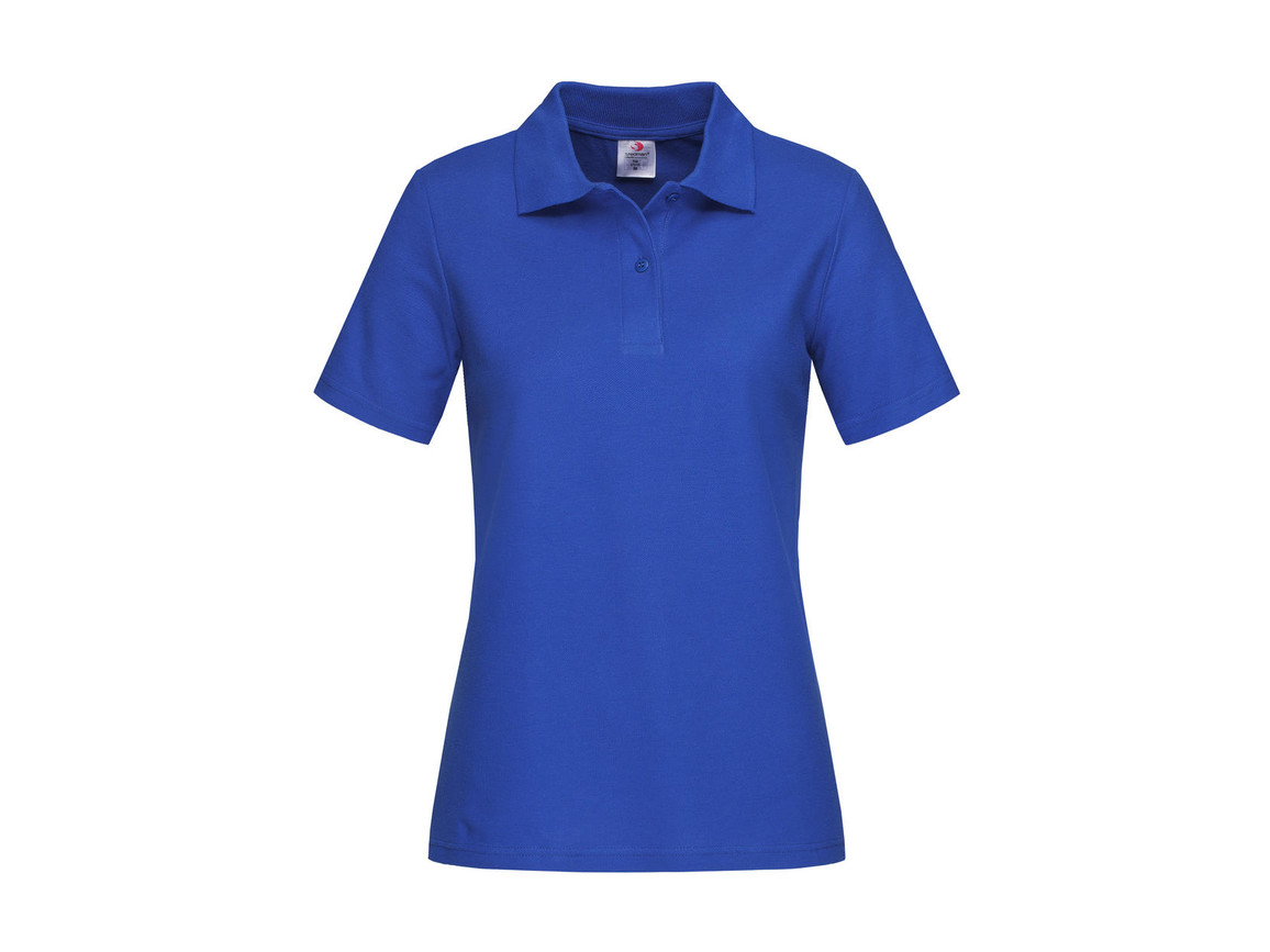 Stedman Polo Women, Bright Royal, S bedrucken, Art.-Nr. 505053063