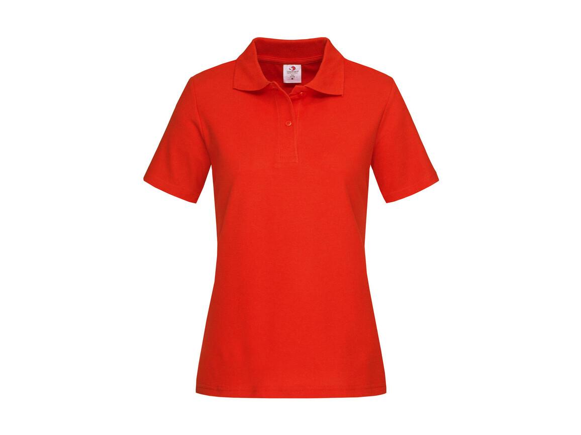 Stedman Polo Women, Brilliant Orange, XL bedrucken, Art.-Nr. 505054146
