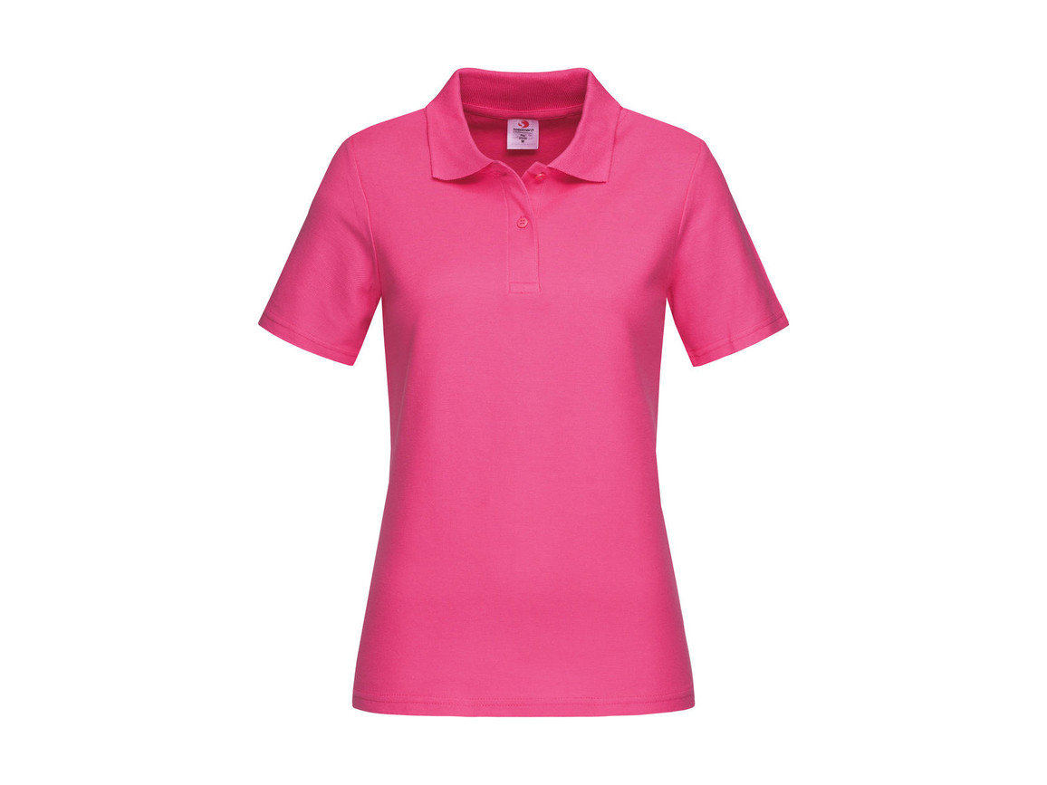 Stedman Polo Women, Sweet Pink, XL bedrucken, Art.-Nr. 505054246