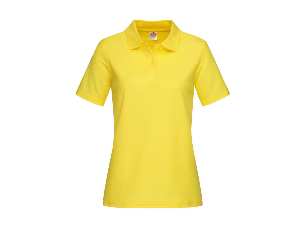 Stedman Polo Women, Yellow, M bedrucken, Art.-Nr. 505056004
