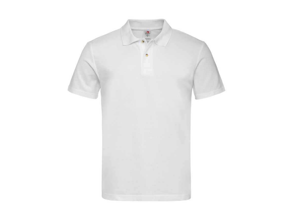 Stedman Polo, White, S bedrucken, Art.-Nr. 506050003