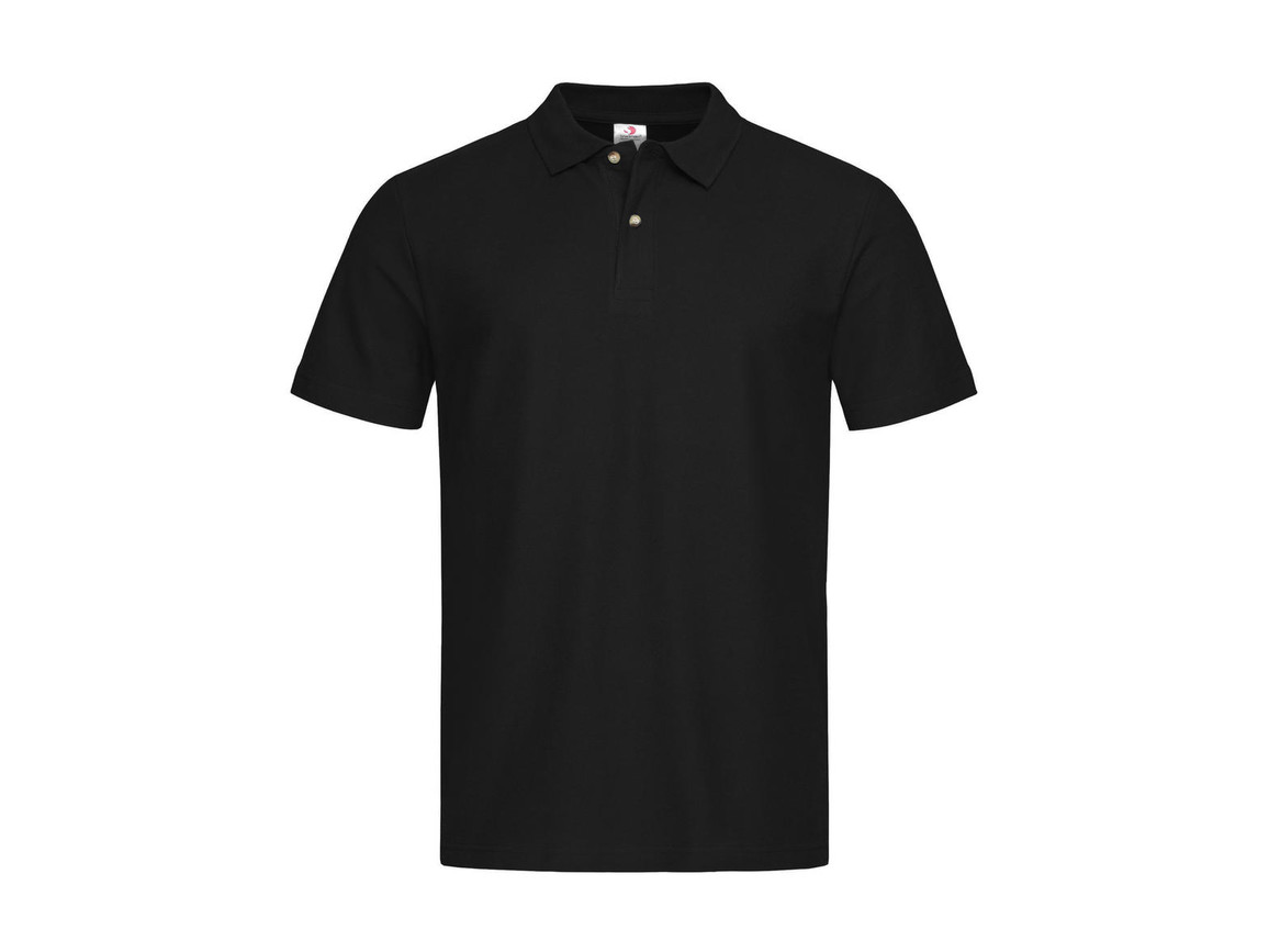 Stedman Polo, Black Opal, 2XL bedrucken, Art.-Nr. 506051027