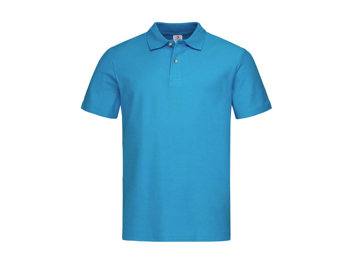 Stedman Polo, Ocean Blue, L bedrucken, Art.-Nr. 506053145