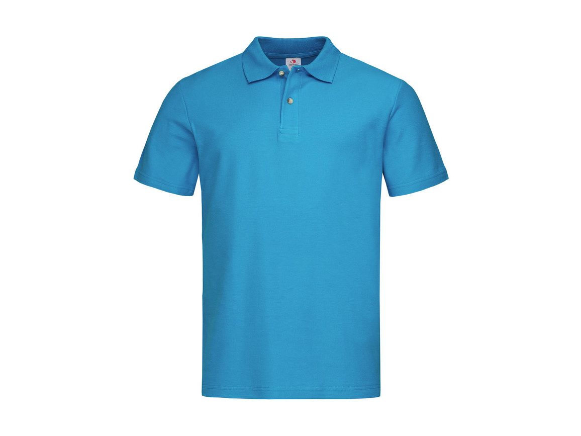 Stedman Polo, Ocean Blue, M bedrucken, Art.-Nr. 506053144