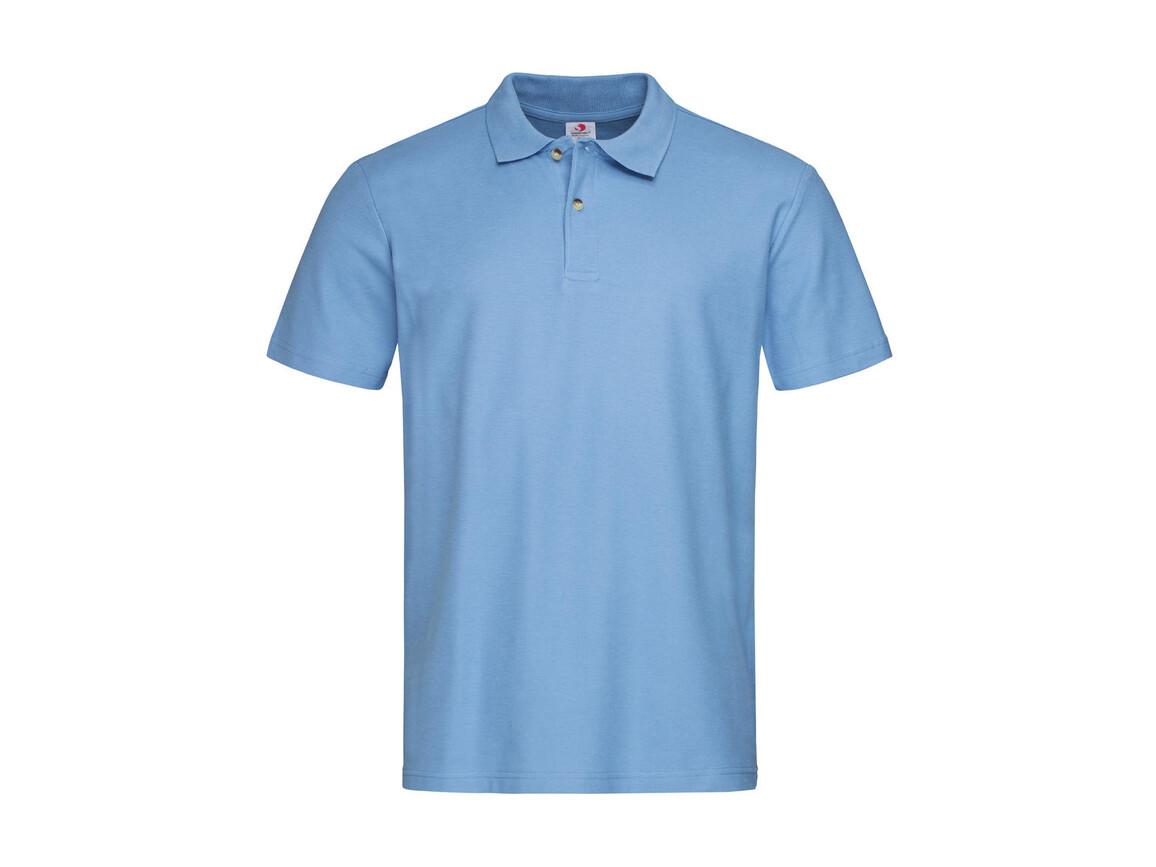 Stedman Polo, Light Blue, XL bedrucken, Art.-Nr. 506053216