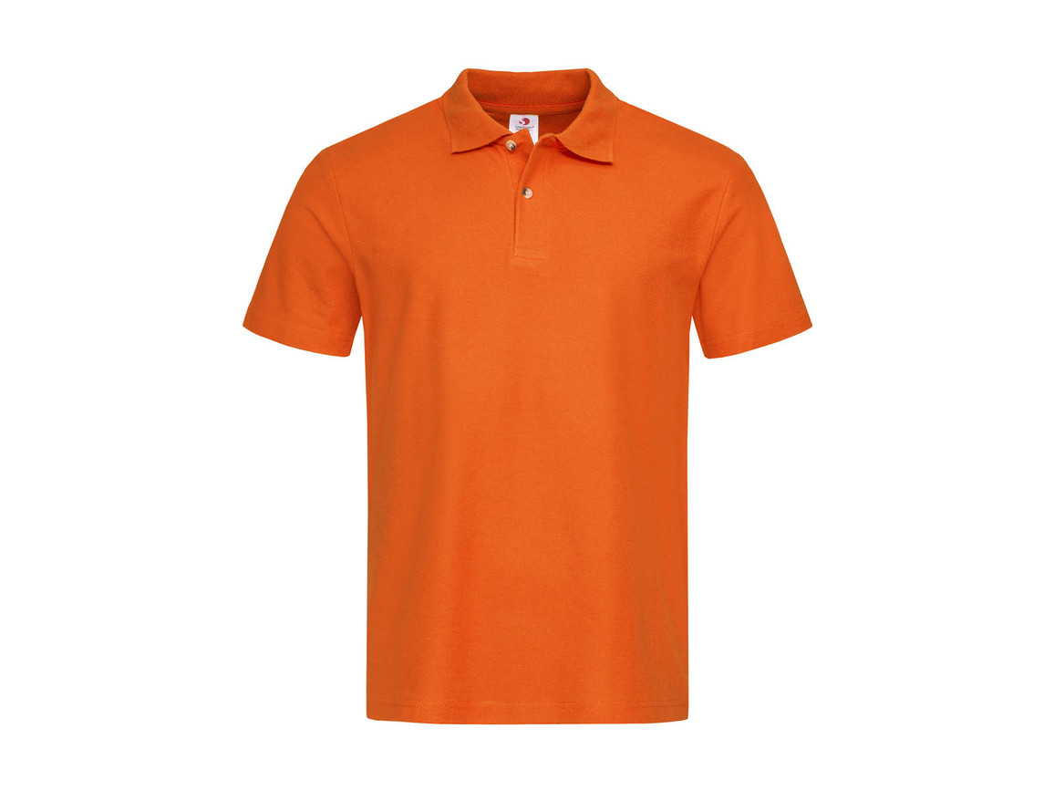 Stedman Polo, Orange, M bedrucken, Art.-Nr. 506054104