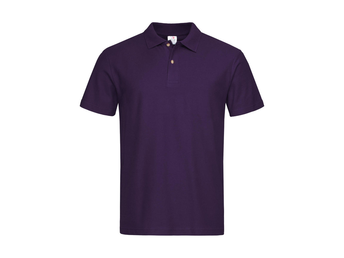 Stedman Polo, Deep Berry, S bedrucken, Art.-Nr. 506054293
