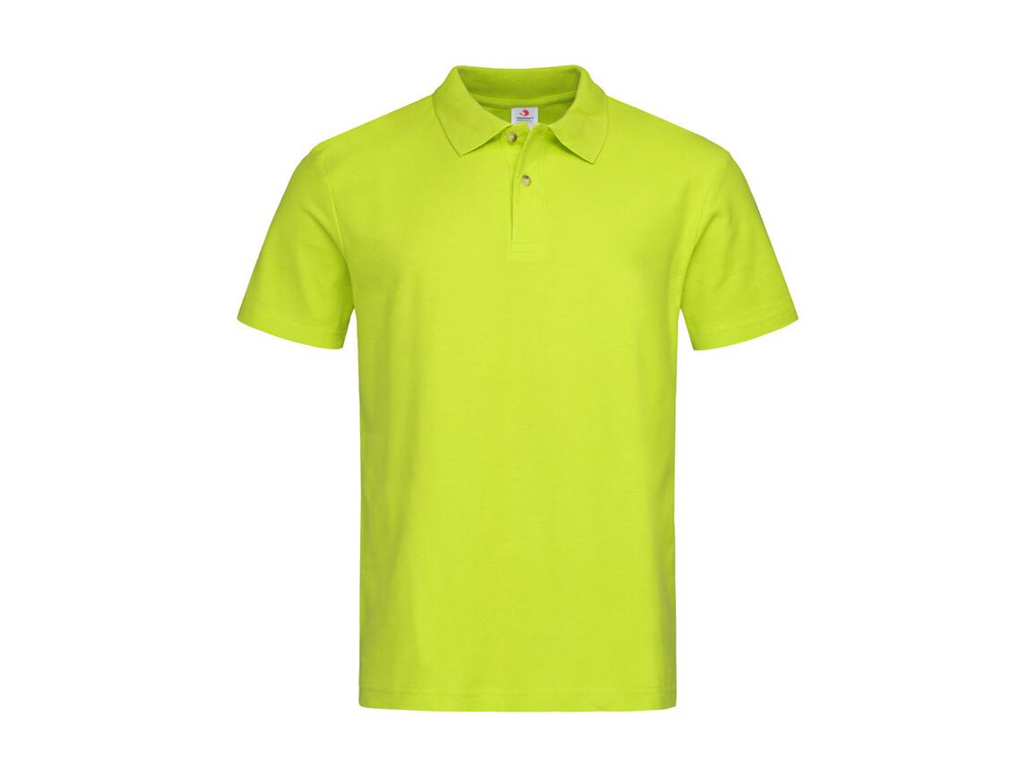 Stedman Polo, Bright Lime, XL bedrucken, Art.-Nr. 506055236