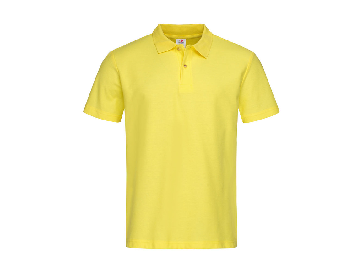 Stedman Polo, Yellow, L bedrucken, Art.-Nr. 506056005