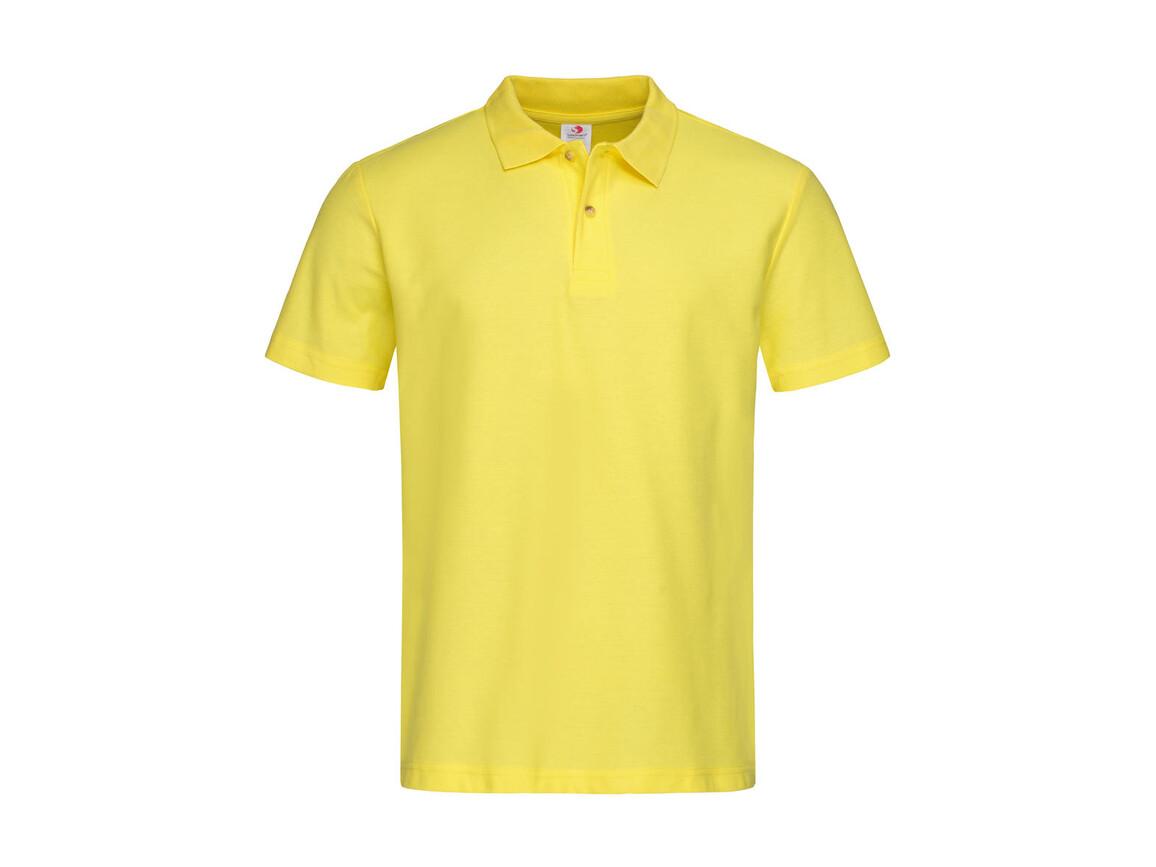 Stedman Polo, Yellow, XL bedrucken, Art.-Nr. 506056006