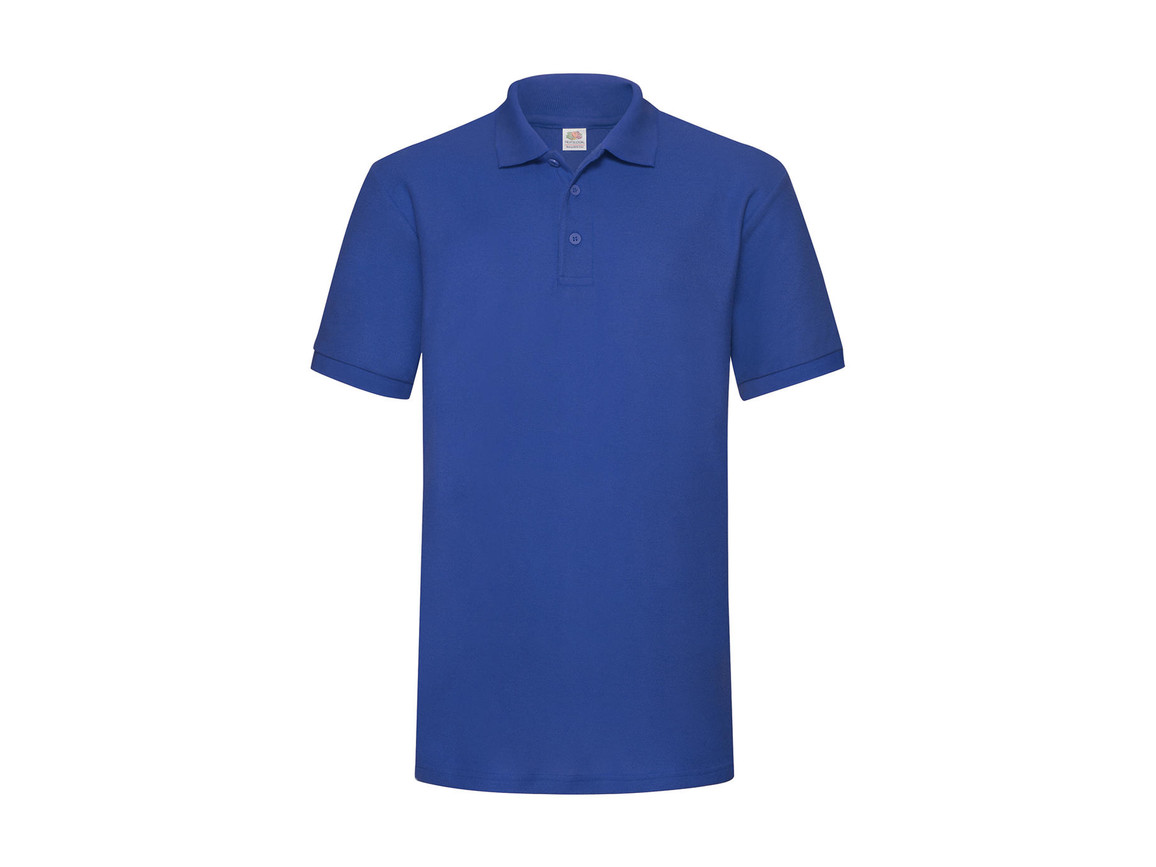 Fruit of the Loom Heavyweight 65:35 Polo, Royal, L bedrucken, Art.-Nr. 507013005