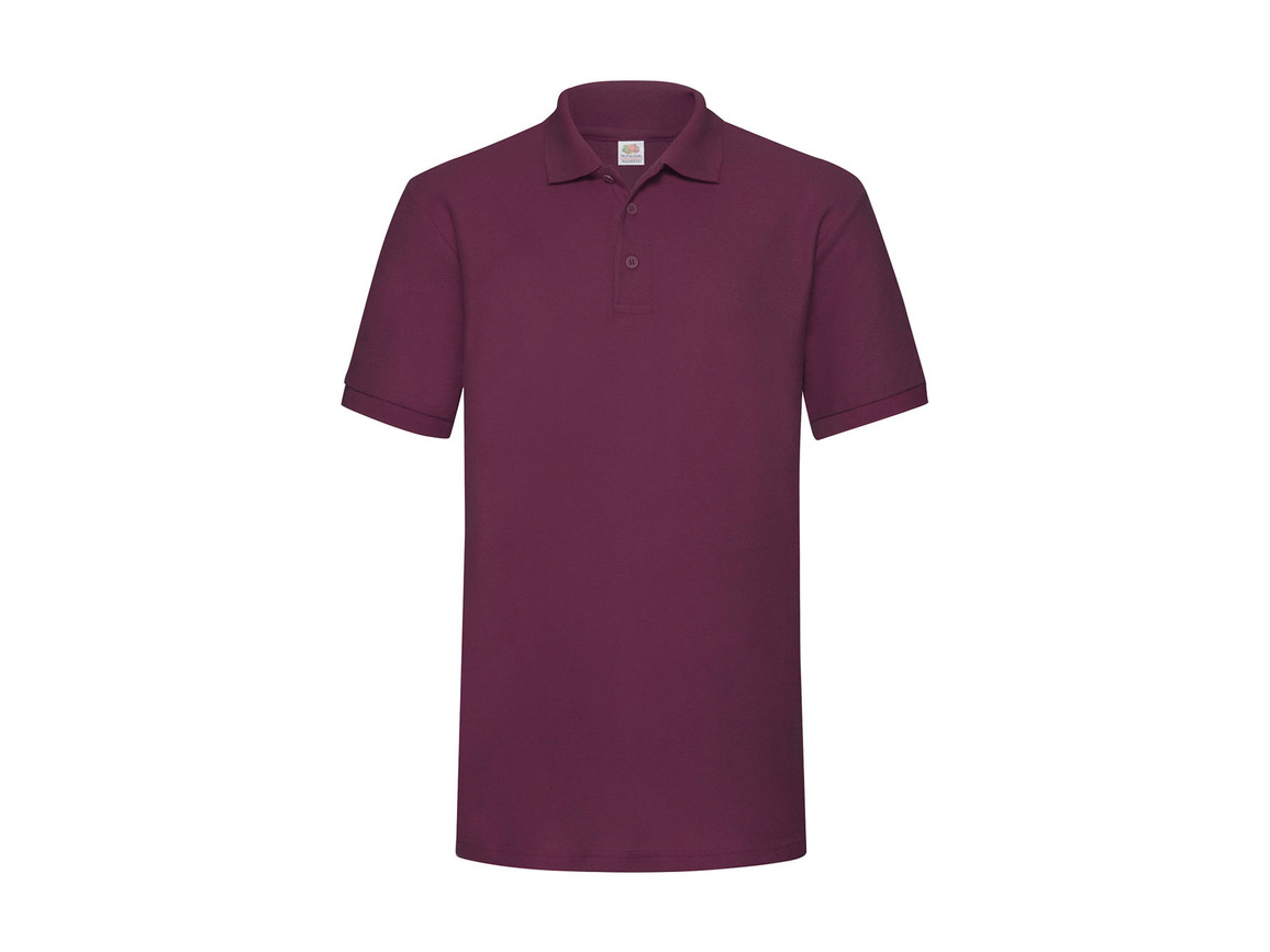 Fruit of the Loom Heavyweight 65:35 Polo, Burgundy, L bedrucken, Art.-Nr. 507014485