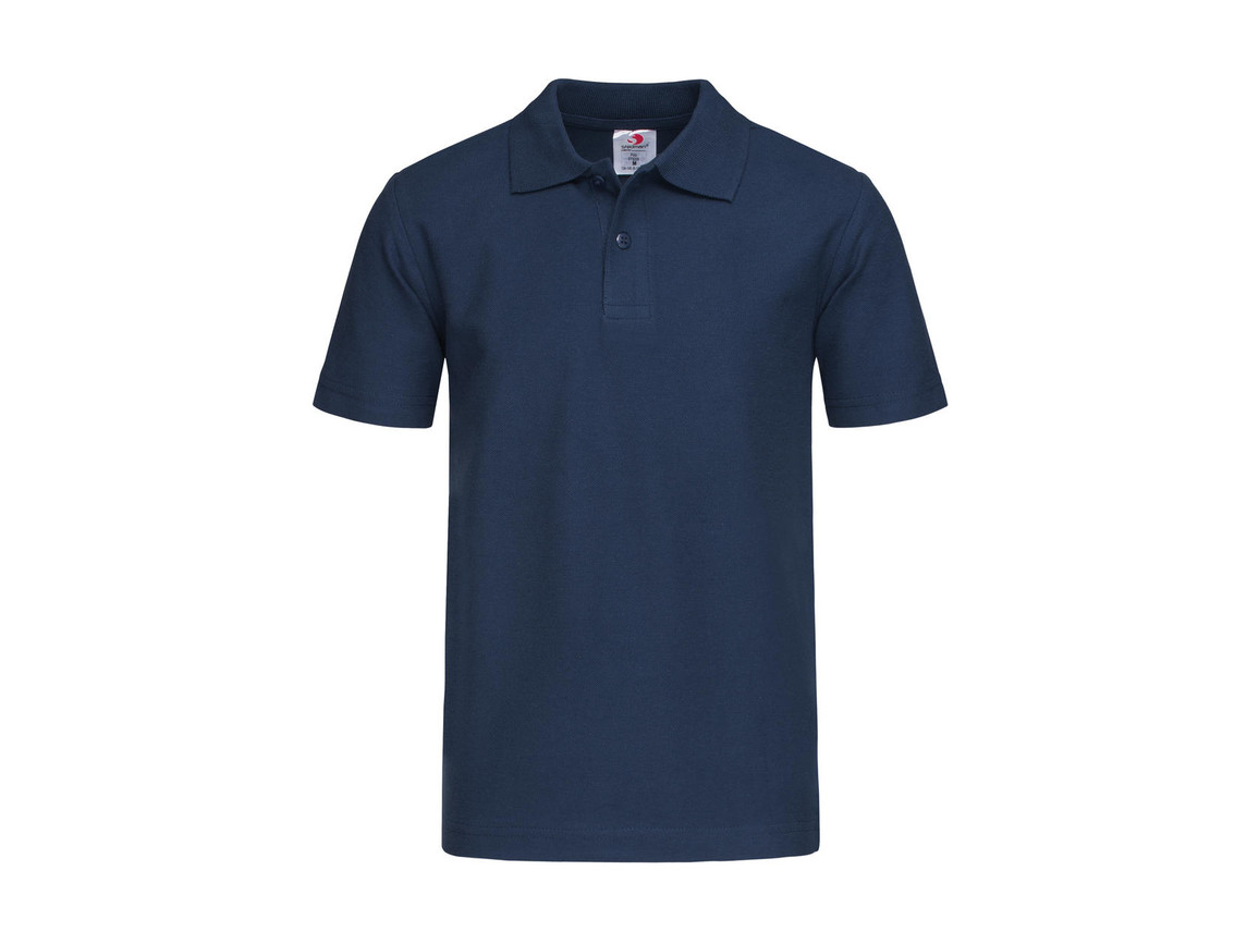 Stedman Polo Kids, Navy, XL bedrucken, Art.-Nr. 508052006