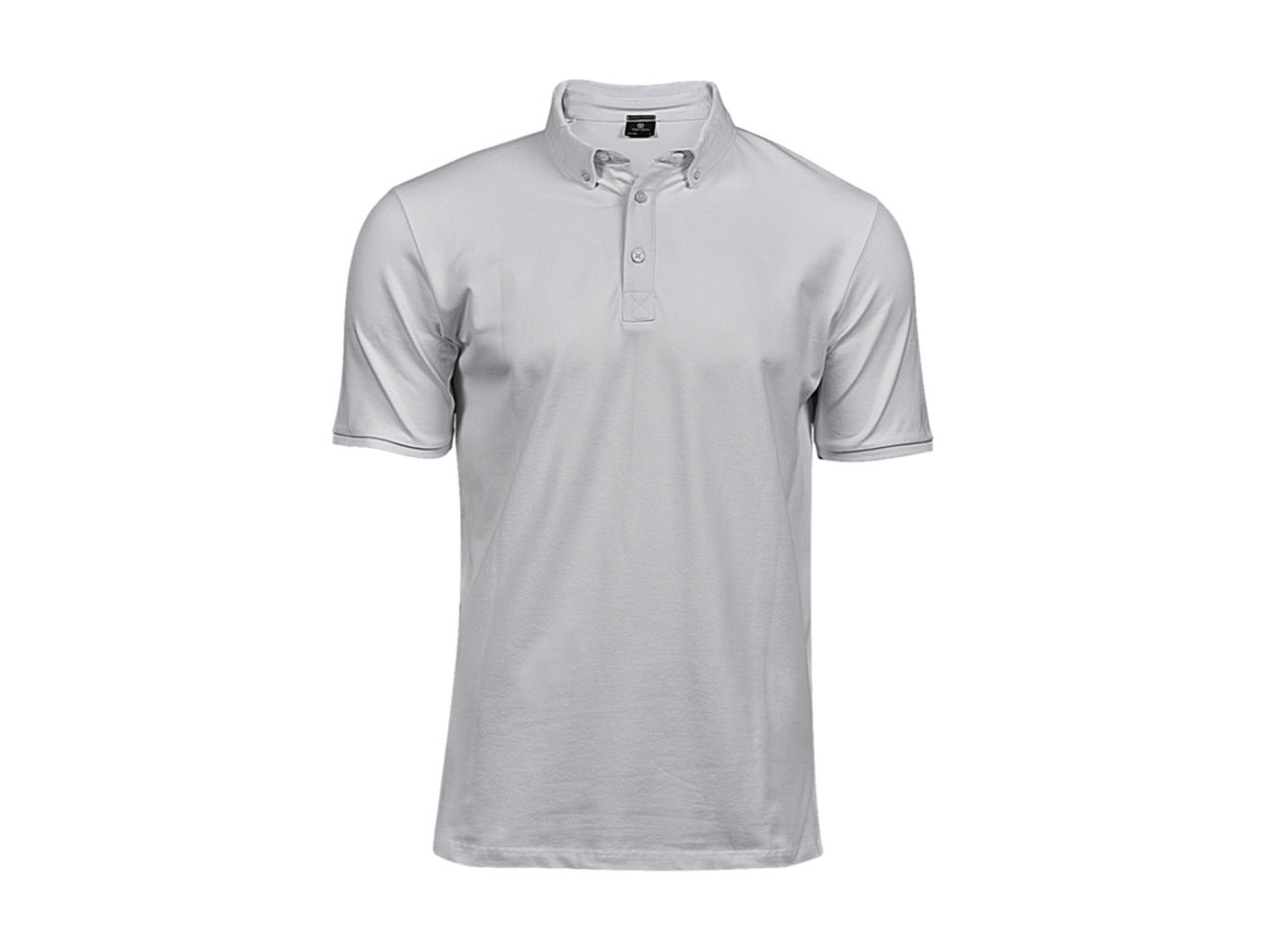 Tee Jays Fashion Luxury Stretch Polo, White, 2XL bedrucken, Art.-Nr. 509540006