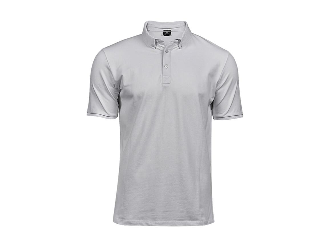 Tee Jays Fashion Luxury Stretch Polo, White, XL bedrucken, Art.-Nr. 509540005