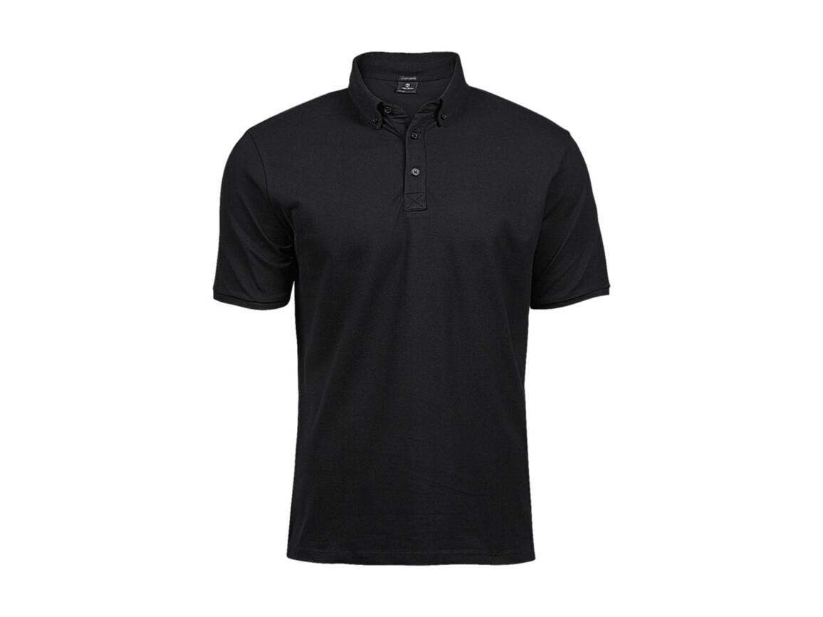Tee Jays Fashion Luxury Stretch Polo, Black, L bedrucken, Art.-Nr. 509541014