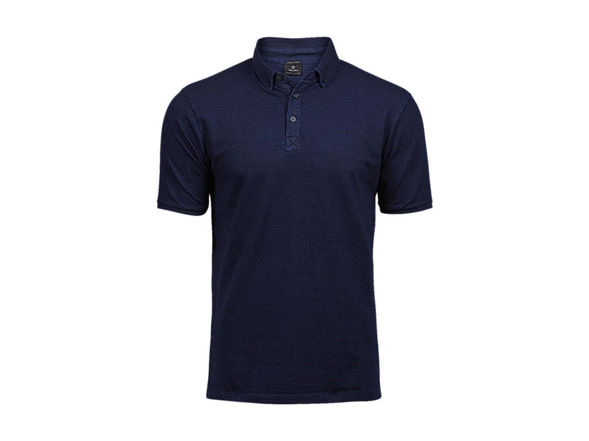 Tee Jays Fashion Luxury Stretch Polo, Denim, 2XL bedrucken, Art.-Nr. 509543086