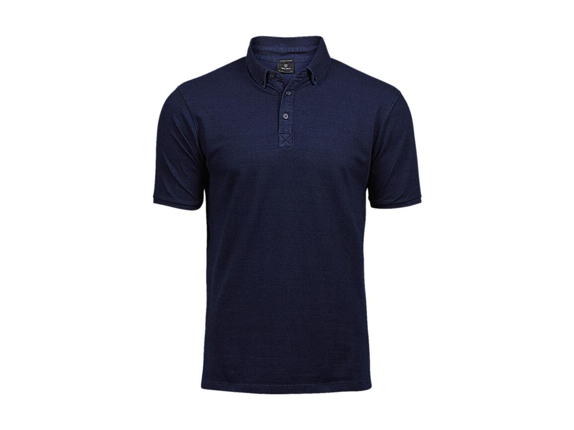 Tee Jays Fashion Luxury Stretch Polo, Denim, M bedrucken, Art.-Nr. 509543083