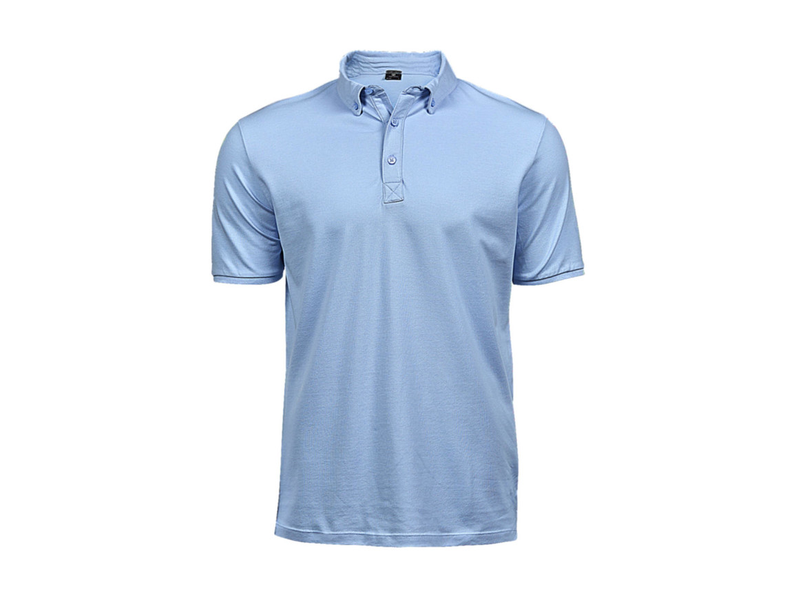 Tee Jays Fashion Luxury Stretch Polo, Light Blue, XL bedrucken, Art.-Nr. 509543215