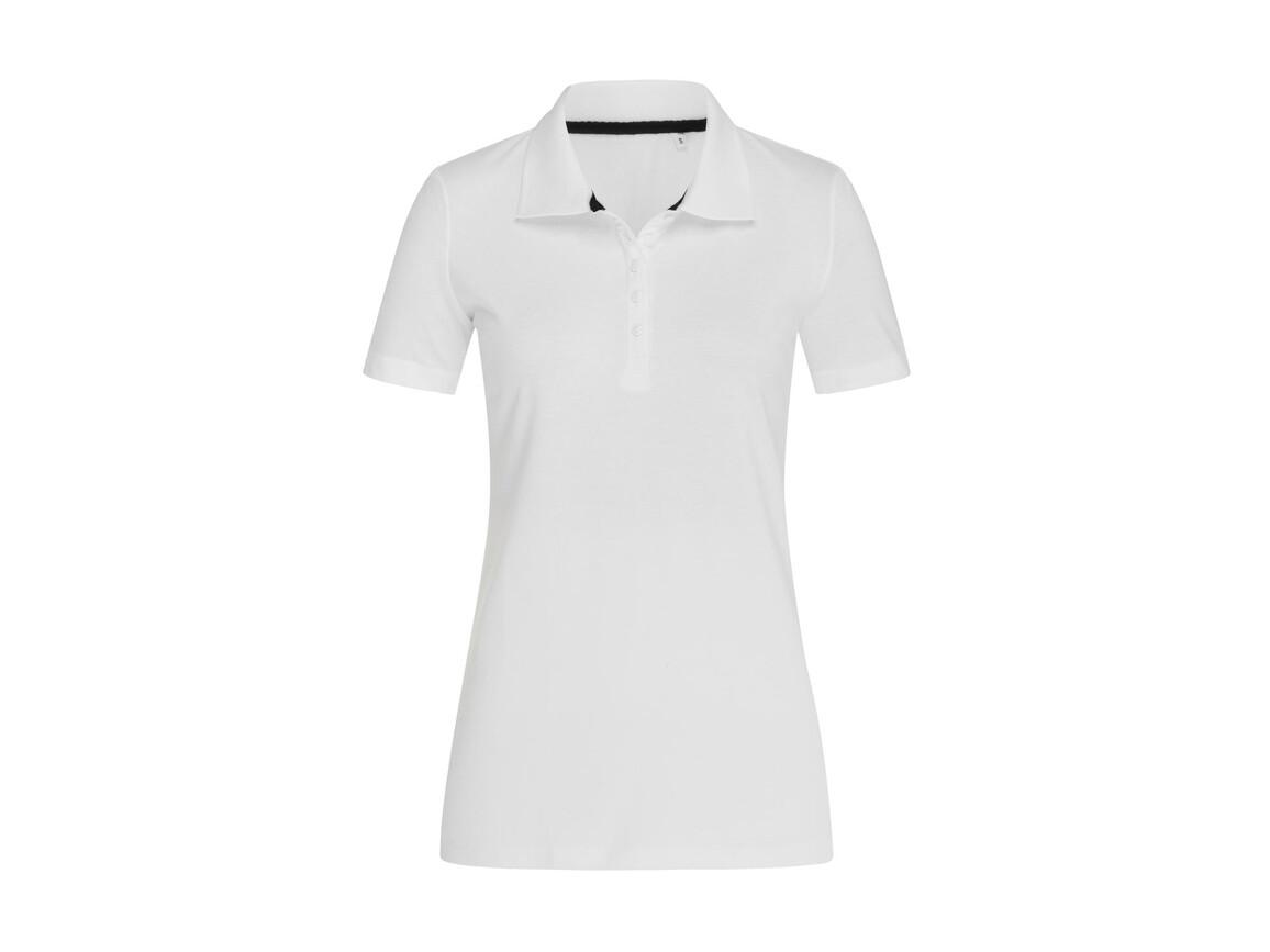 Stedman Hanna Polo Women, White, L bedrucken, Art.-Nr. 523050005