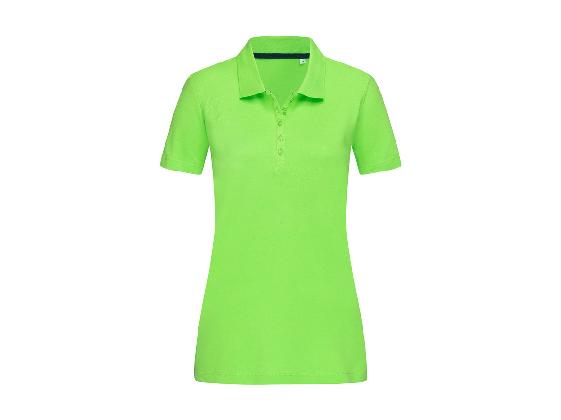 Stedman Hanna Polo Women, Green Flash, L bedrucken, Art.-Nr. 523055225