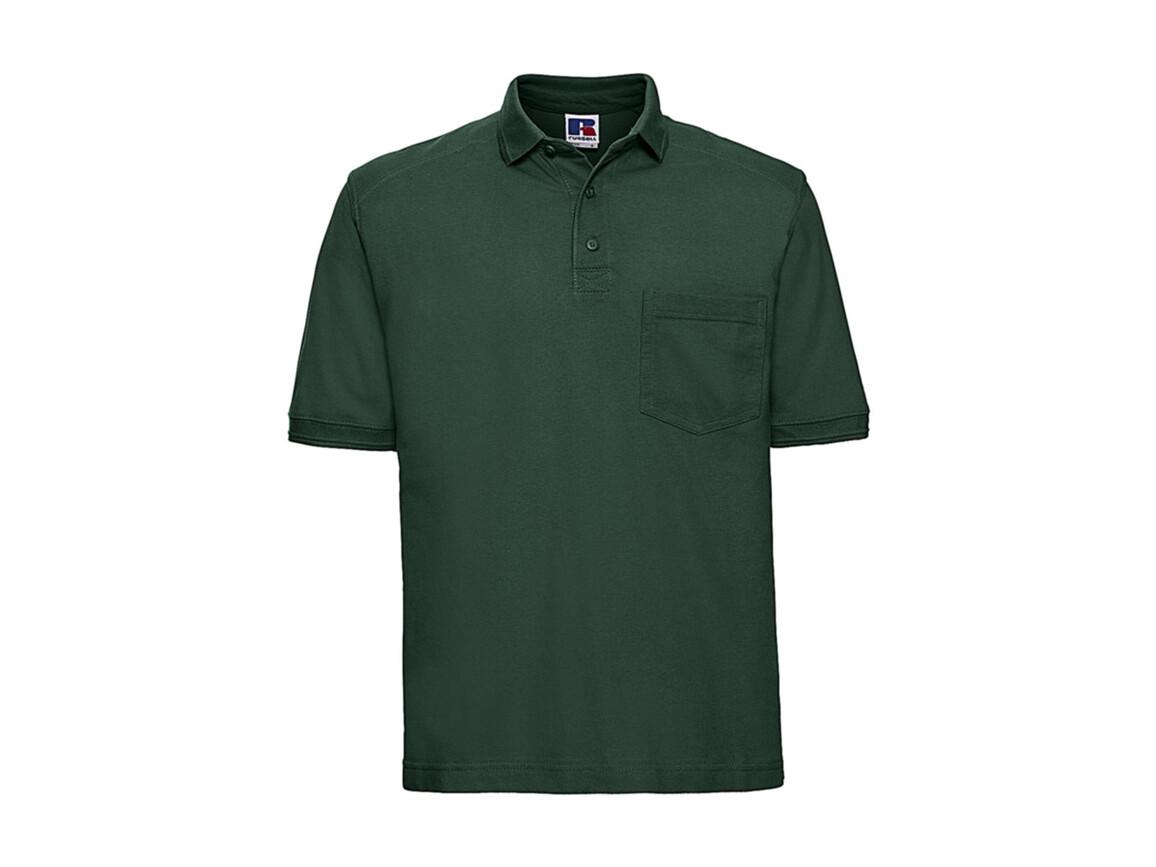 Russell Europe Workwear Polo Shirt, Bottle Green, 3XL bedrucken, Art.-Nr. 590005408
