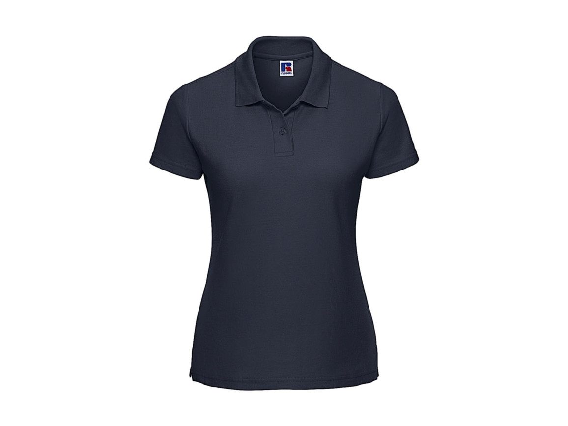 Russell Europe Ladies` Classic Polycotton Polo, French Navy, XS bedrucken, Art.-Nr. 593002012